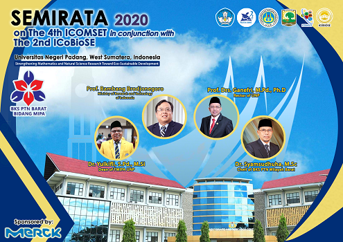 SEMIRATA 2020 on The 4th ICOMSET in conjunction with The 2nd ICoBioSE