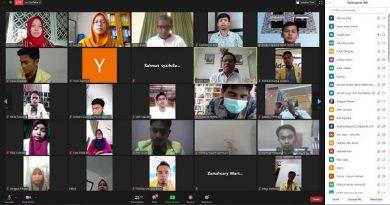 Pelantikan Pengurus ORMAWA se-Lingkungan FMIPA Universitas Negeri Padang Tahun 2020