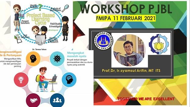 Workshop Penulisan Perangkat Pembelajaran untuk Mata Kuliah PjBL