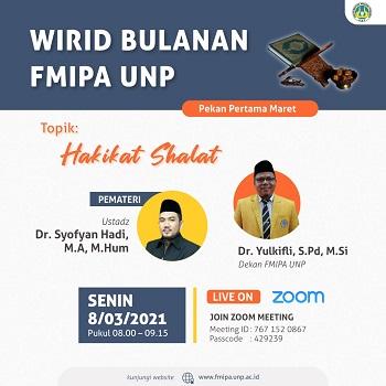 Wirid Bulanan : Hakikat Shalat