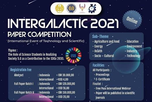 [Coming Soon] INTERGALACTIC 2021