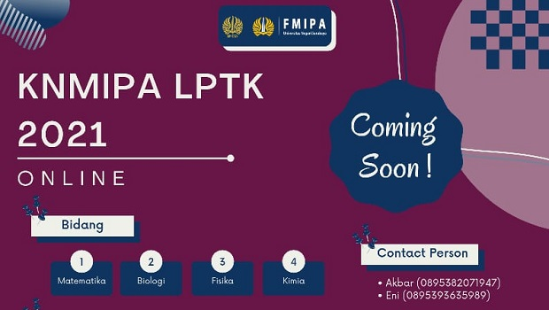 [Coming Soon] KNMIPA LPTK 2021