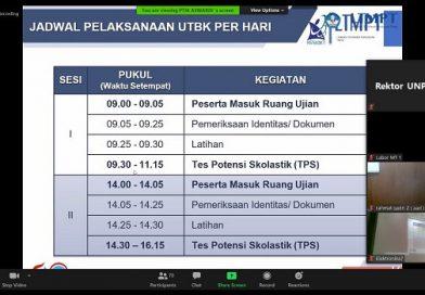 Pelaksanaan Ujian Tulis Berbasis Komputer (UTBK) 2020 di FMIPA UNP