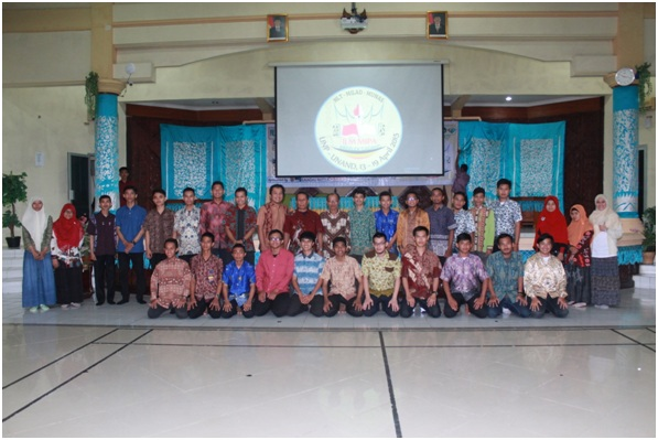 Welcoming Dinner di Aula Engku M. Syafei, LPMP Sumatera Barat