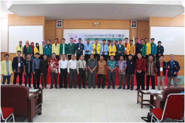 Pembukaan National Leadership Training di Auditorium Prof. Kamaluddin Fakultas Ekonomi UNP